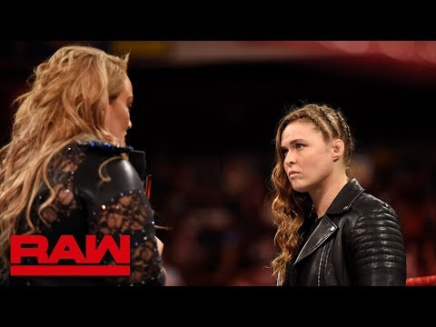 Xxx Mp4 Nia Jax Plays Mind Games With Ronda Rousey Raw May 28 2018 3gp Sex