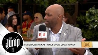 Vince Carter: LeBron scoring 45 points isn't enough, he needs his supporting cast   The Jump   ESPN