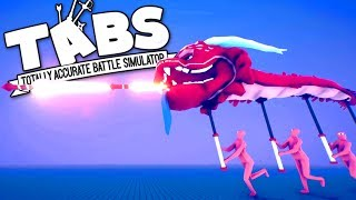 TABS - Rocket Breathing Dragons! - Totally Accurate Battle Simulator Multiplayer