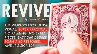 REVIVE Torn & Restored by Duane Williams