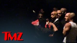 Suge Knight Shot -- The Game and Crew scuffle outisde the Club | TMZ