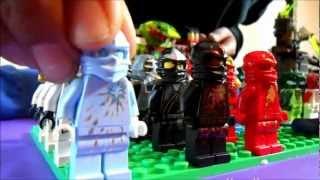 Ninjago Lego Sets Andrew and Jacob's Collection Review and Ninjago Theme Song