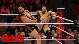 Neville vs. Bo Dallas: Raw, Oct. 17, 2016