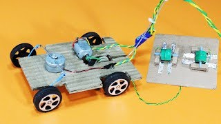 How To Make RC Car At Home Easily | Remote Control Car