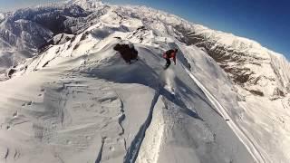 Snowboarding in Dizin, Iran, 2015