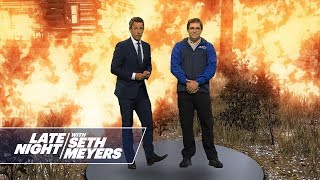 Seth Experiences the Effect of Climate Change in Virtual Reality