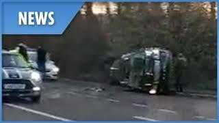 Prince Philip in car crash near Queen's Sandringham estate