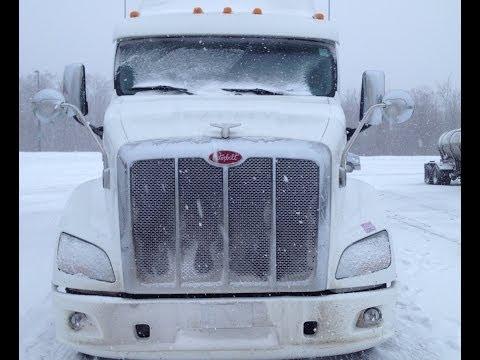 Caminhão Botando Pressão na Neve Vlog18rodas