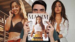 CAELI en la Revista MAXIM  ¿QUÉ CONTIENE?   Diego Lóppz