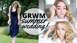 GRWM Summer Wedding 2016! | Fleur De Force