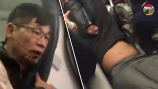 رجل ينضرب وينسحب من الطيارة لسبب بيقهرك جدا