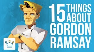 15 Things You Didn't Know About Gordon Ramsay