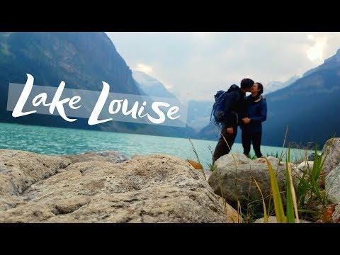Hiking around Lake Louise in Banff National Park