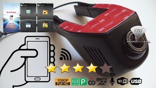 1080P Hidden WiFi Car-DVR Vehicle video recorder dash-cam