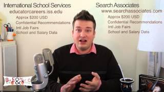 How to get an International School Teaching Job - Part 2 - Where to find jobs?