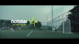 Hotstar For Who You Are: Aim Promo