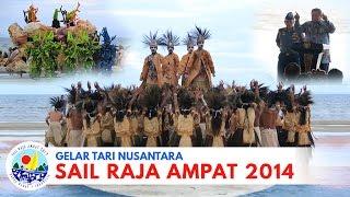 (Acara Puncak) Gelar Tari Nusantara, SAIL RAJA AMPAT 2014 by MAM EO