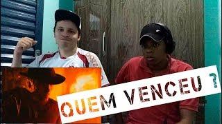 React -  Freddy Krueger VS. Jason Voorhees | Duelo de Titãs (7 Minutoz)