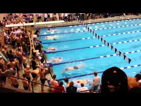 CT State Opens 100 yard breast stroke 2012