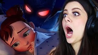 REACTING TO THE MOST SCARY ANIMATIONS (DO NOT WATCH AT NIGHT)