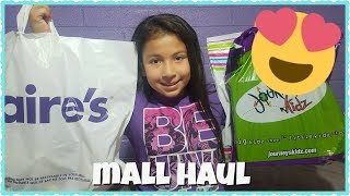 MALL HAUL (Justice, Claires, and Journeys)