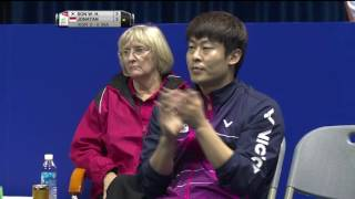 TOTAL BWF Thomas & Uber Cup Finals 2016 | Badminton SF/S1-Thomas Cup – KOR vs INA (Court 2)