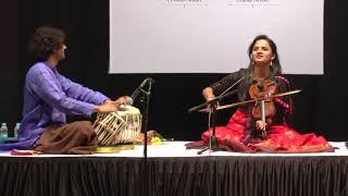 Raga Devgiri Bilaval (Madhyalay & Drut) - Nandini Shankar & Ojas Adhiya - Indian Violin - Part 2