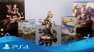 Horizon Zero Dawn   Collector's Edition First Unboxing   PS4