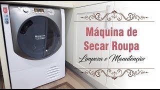 Máquina de Secar Roupa • Limpeza e Manutenção • www.luisaalexandra.com