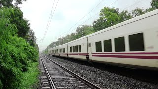 Exclusive coverage of High speed Talgo train trial run between New Delhi and Mumbai