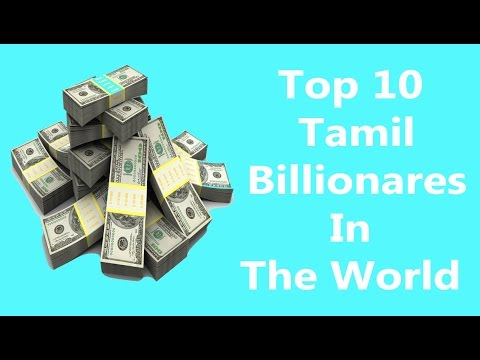 TOP 10 TAMIL BILLIONAIRES