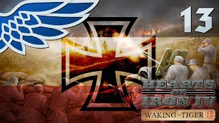 HEARTS OF IRON 4 | THE SPANISH FRONT PART 13 - HOI4 WAKING THE TIGER Let