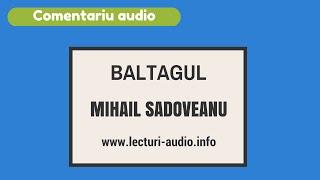M.Sadoveanu-Baltagul - Comentariu audio ptr. bacalaureat