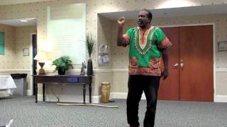 Storytelling: Rob Cleveland Performs THE DRUM