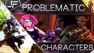 Paladins- How To Deal With Problematic Characters