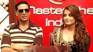 Aishwarya joins Akshay at 'Master Chef'