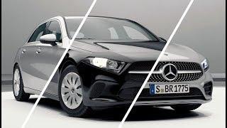 New A-class - Basic, Style, Progressive, AMG line