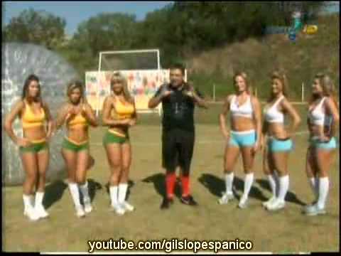Pânico Na TV 18 07 2010 Bola e as Panicats Prova da Jabulani Humana
