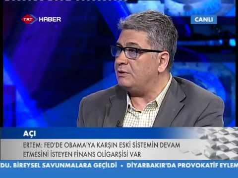 TRT Haber - Açı - Hasen Uzmanı Cemil Ertem  Dünya Finans Sistemindeki Dalgalanmalar - 17.07.2013