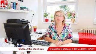 MUDr. Jitka Stanková - praktická lékařka pro děti a dorost Jirkov