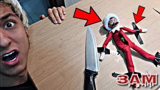 DO NOT CUT OPEN HAUNTED ELF ON THE SHELF DOLL AT 3AM!! *OMG WHAT