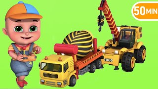 Surprise Eggs | Construction Truck Toys for Kids | Surprise Eggs videos from Jugnu kids