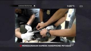 Petugas Bea Cukai Tanjung Priok Gagalkan Penyelundupan Sabu Dalam Pompa & Tas - Customs Protection