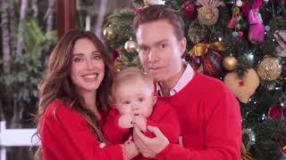Anahi y Manuel Velasco les desean un Feliz Navidad a todos! 24.12.2017
