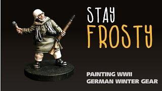 Stay frosty: Painting WWII German winter gear