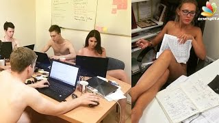 People in Belarus are getting naked at work | Latest Tamil News