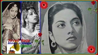 SURAIYA-Film-ISHARA-1943-Panghat Pe Muraliya Baje-[ Rare Zabardast Melody ]3