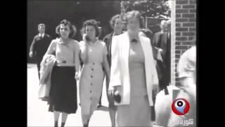 فيلم حقيقي يظهر امرآة تتكلم في الموبايل من عام 1938 ... هل هي مسافرة عبر الزمن ؟!