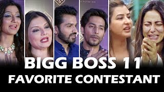 Salman Khan के सबसे Favorite Contestant | Hina, Shilpa, Vikas, Arshi, Priyank | Celebs Reaction