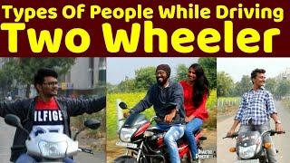 Types Of People While Driving Two Wheeler | Dhakitiki Dhakitiki Awwoo | DDA | latest funny video
